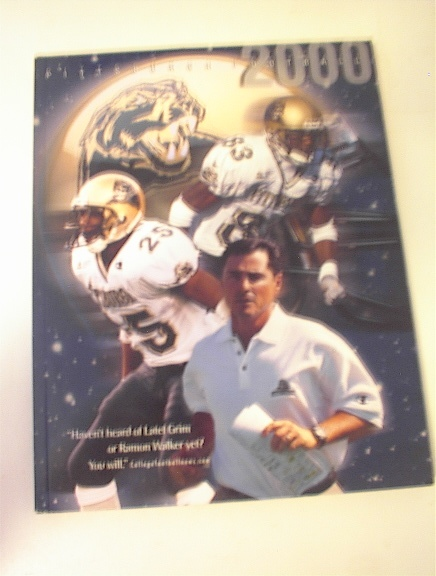 2000 Pittsburgh Panthers Football Media Guide