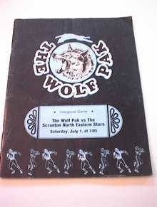 7/1/78 The Wolf Pak vs Scranton NE Stars