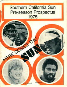 Southern California Pre Season 1975 Prospects
