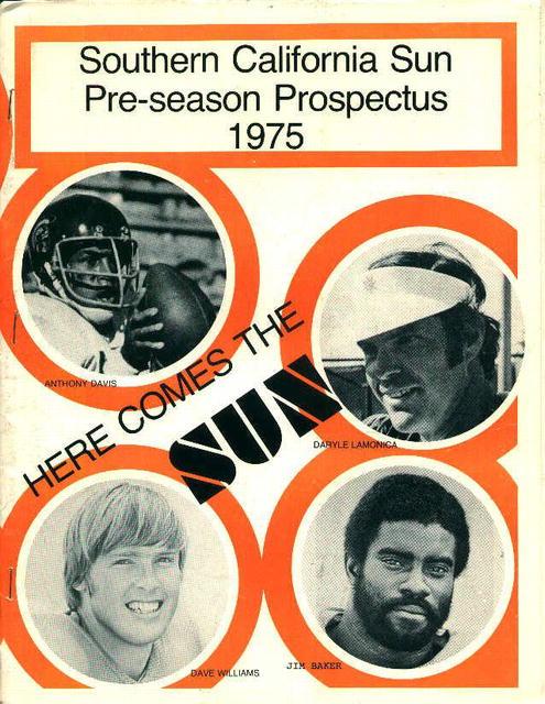 Southern California Pre Season 1975 Prospects