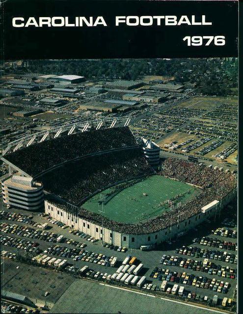 Carolina Football 1976 Gamcocks Pro Football!