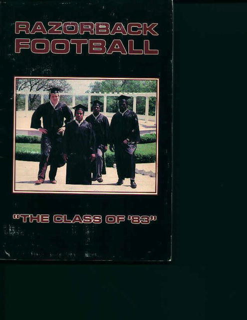 Razorback Football 1983 Guide!