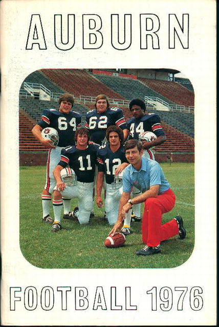Auburn Football 1976 Guide!