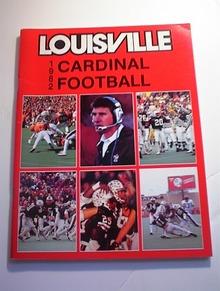 1982 Louisville Cardinal Football Guide