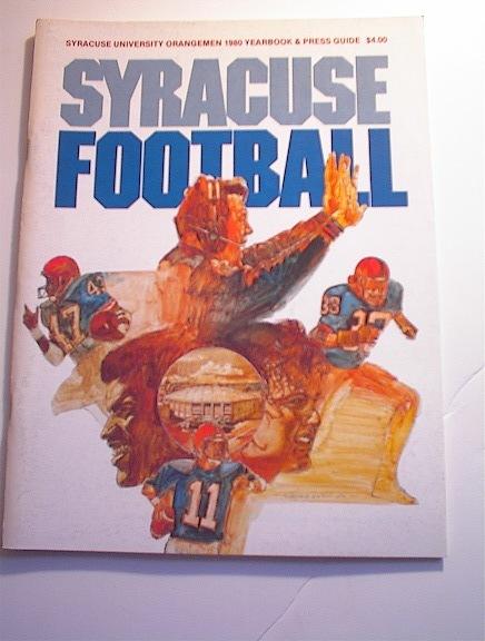 Syracuse University Orangemen 1980 Yearbook