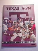 Texas A & M 1980 Football Press & Media Guide