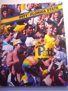 PITT vs FLORIDA STATE Oct 8,1983 Program