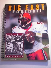 BIG EAST FOOTBALL 1996 MEDIA GUIDE
