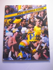 PITT vs FLORIDA STATE October 8,1983 Program