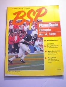 BSP PENN STATE VS TEMPLE October 6,1990