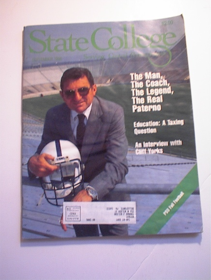 STATE COLLEGE Sept.1990 PATERNO COVER!