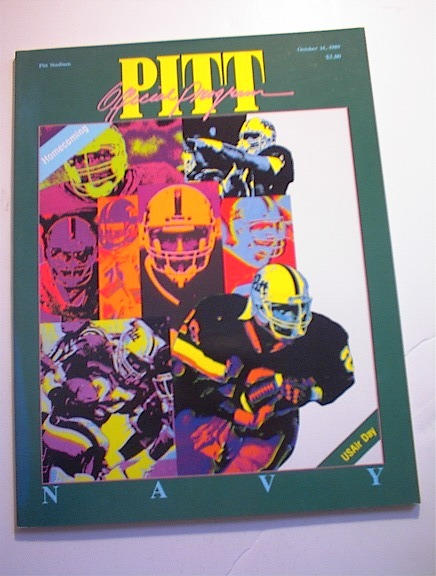 PITT VS NAVY October 14,1989 Program