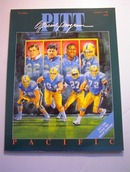 PITT vs PACIFIC September 2,1989 PROGRAM