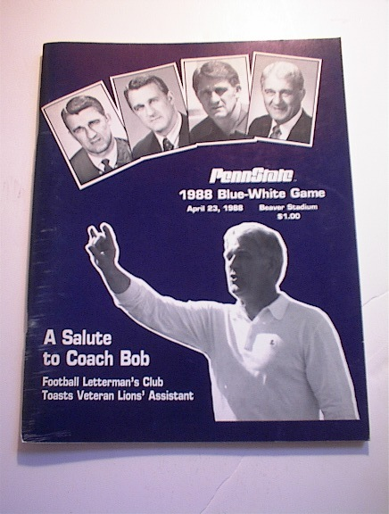 PENN STATE April 23,1988 Blue-White Game Pgm