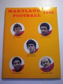 MARYLAND FOOTBALL 1980 MEDIA GUIDE