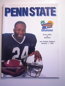 PENN STATE vs STANFORD 1/1/93BLOCKBUSTER BOWL