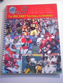 1995 Media Guide The BIG EAST CONFERENCE