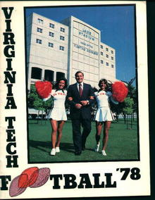 Virginia Football Guide for 1978!Color Photos