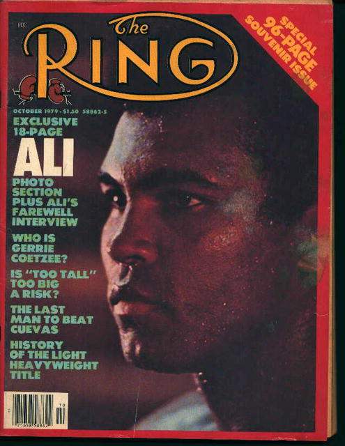 The Ring=10/79-Ali's Farewell Interview,G.Go-