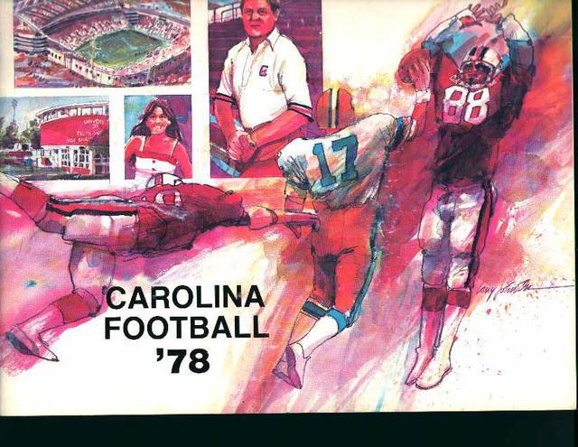 Carolina Football Guide from 1978!