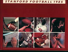 Stanford Football Guide from 1985!