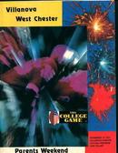 Villanova vs Westchester Game Program 11/73