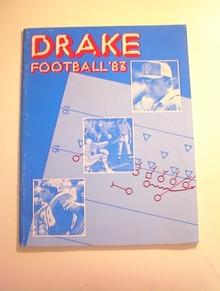 DRAKE Football 1983 Media Guide