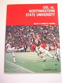 USL vs Northwestern State,11/15/1975,Program
