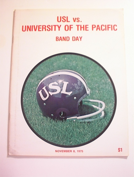 USL vs University Of The Pacific,11/8/1975