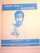 Brigham Young U. vs Texas-El Paso,12/1/1973