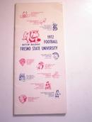 Fresno State University 1972 Press Guide