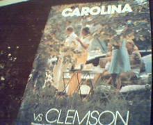 Carolina Vs Clemson Official Program 11/8/75