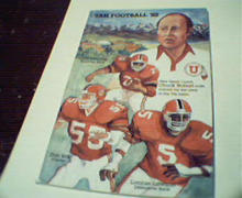 Utah Football Guide from 1982!