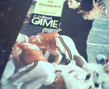 Villanova vs Delaware Program from 11/1/75
