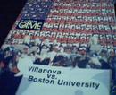 Villanova vs Boston University Program 11/75