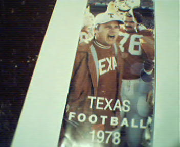 Texas Football Guide from 1978!