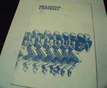 Villanova Football Guide from 1976!