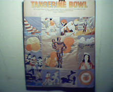 Tangerine Bowl-12/23/78 N.C. and U of Pgh!