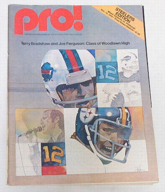 Pro! NFL Football Steelers/Dolphins 11/14/76