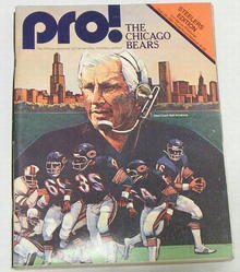 Pro! NFL Football Steelers vs. Bears 9/28/80