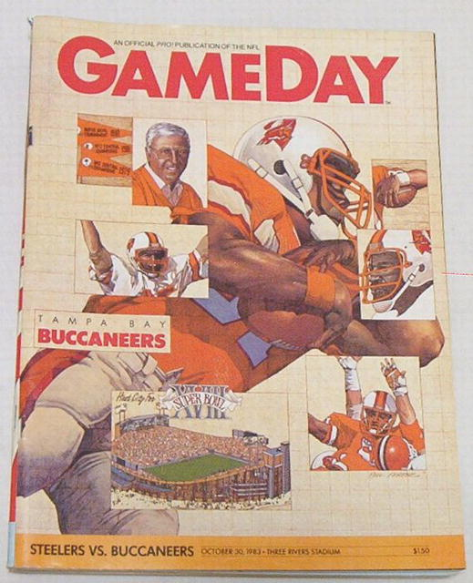 Gameday Pro! Steelers vs. Buccaneers 10/30/83