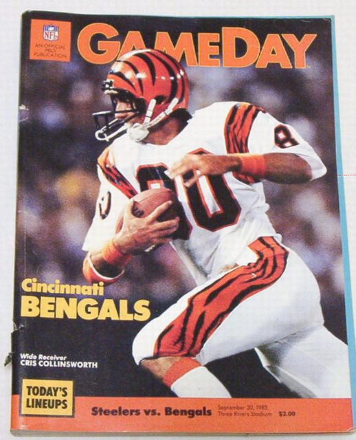 Gameday Pro! Steelers/Cincinn.Bengals 9/30/85
