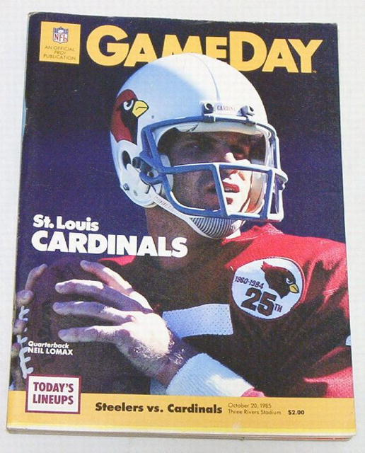 Gameday Pro! Steelers vs. Cardinals 10/20/85