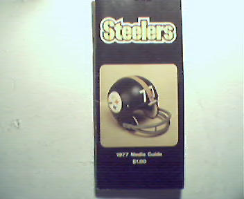 Steelers 1977 Medial Guide!