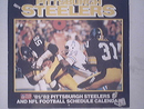 Pittsburgh Steelers 1981/1982 Color Calender