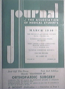 Journal Of The Association Of Medical Students 3/1940