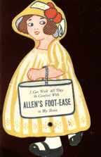 Great Spinning Foot Mechanical Ad Doll 1922