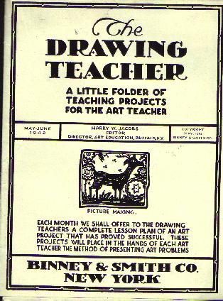 Drawing projects for kids, 1942