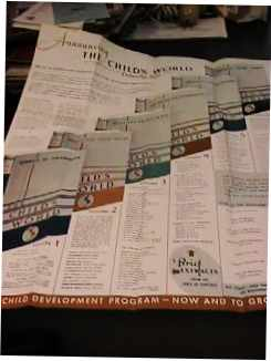 Childs World Encyclopedia 1950s Sales Kit