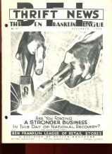 Ben Franklin 5&10 Company New Dec 1933